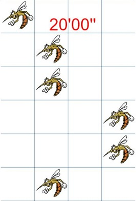 html5实现的灭蚊大作战小游戏
