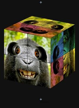 基于css3的3D立方体拼图小游戏源码