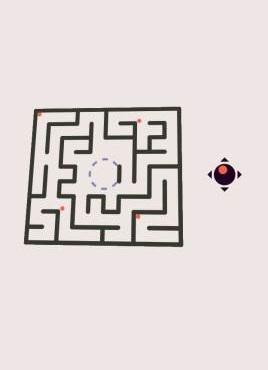 基于h5实现的倾斜迷宫小游戏源码
