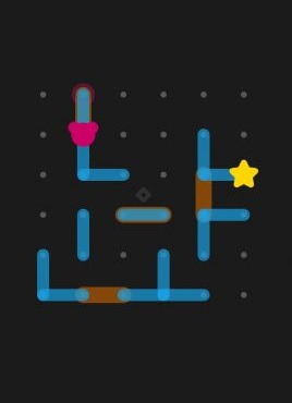 有趣的小熊撞星星益智小游戏源码