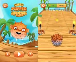手机端3D超级河豚鱼源码