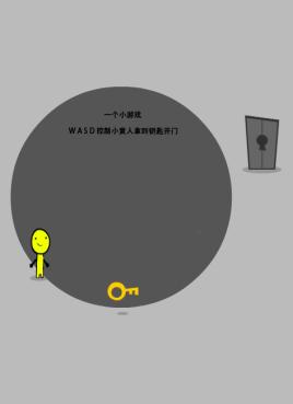 有趣的找钥匙开门小游戏源码