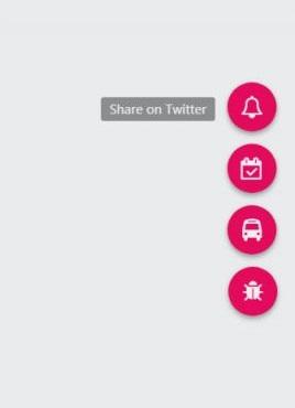 个性的圆形浮动按钮图标菜单特效源码