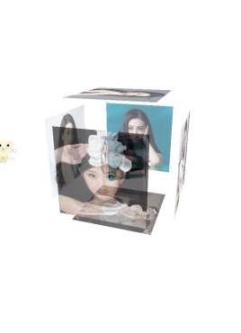 个性的Vue立方体音乐盒播放器