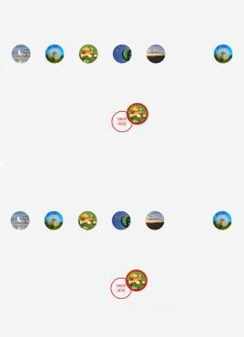 酷炫的3鼠标拖拽图片全屏放大展示特效