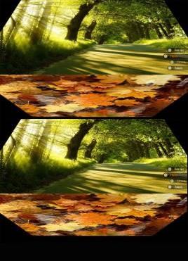 个性的全屏图片3D翻转切换特效
