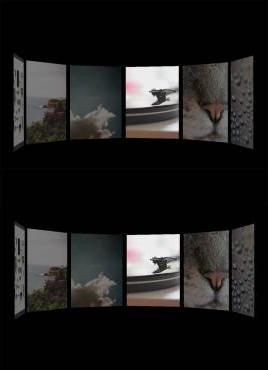 3苦短的D传送带视差照片特效
