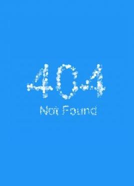 css3云雾状文字粒子动画404错误页面