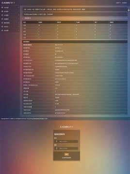 透明背景业网站后台管理通用后台模板页面