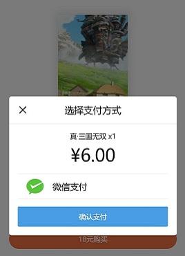 简洁的手机移动端支付专题页面模板