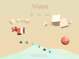 3D飞行的飞机动画特效